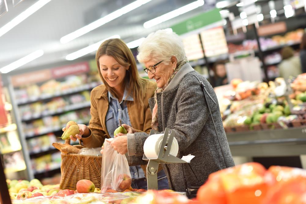 aged care Alzheimer's shopping